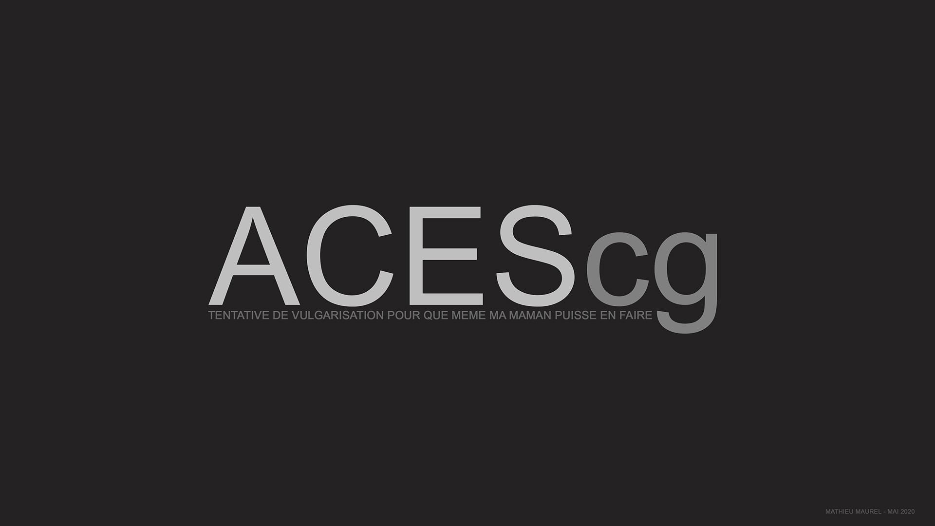 ACES BASICS